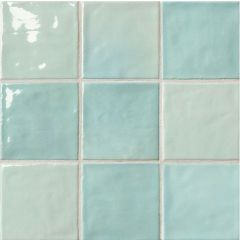 Napoli Verde Ceramic Wall Tiles 10 x 10cm