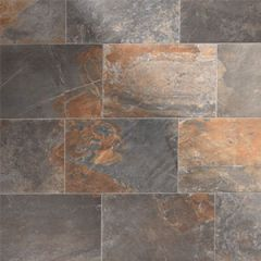 Natural Slate Multicolour Tile 40.8 x 61.4cm