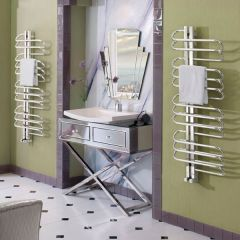 Bisque Orbit Towel Radiators