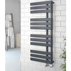 Oregon Chrome Heated Towel Rail
