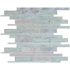Original Style Tribune Linear Mixed Material Mosaic 31 x 29.8cm