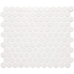 Original Style White Honeycomb Mosaic 297 x 257mm
