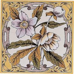 Original Style Windflower Single Decor Tile