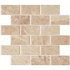 Original Style Bellano Bevel Brickbond Honed Marble