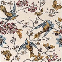 Original Style Bluebird Continuous Pattern Tile