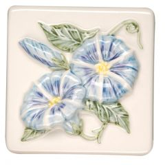 Original Style Bouquet de Fleurs Morning Glory Tile 10 x 10cm