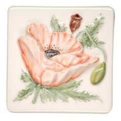 Original Style Bouquet de Fleurs Poppy Tile 10 x 10cm