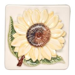 Original Style Bouquet de Fleurs Sunflower Tile 10 x 10cm