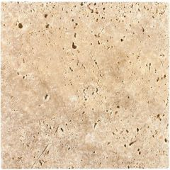 Original Style Byzantine Bronze Tumbled Travertine (203 x 203mm, 406 x 406mm)