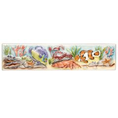 Original Style Coral Reef Emperor & Clown Fish Border