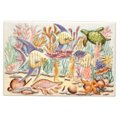 Original Style Coral Reef Plaque