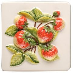 Original Style Coupe De Fruits Strawberries - clematis
