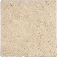 Original Style Levantine Ivory Unfilled & Tumbled Travertine (203 x 203mm, 406 x 406mm)