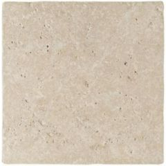 Original Style Levantine Ivory Unfilled & Tumbled Travertine