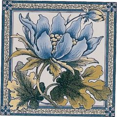 Original Style Peony Single Decor Tile