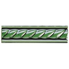 Original Style Rope Victorian Green Border