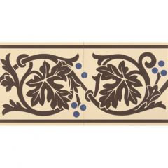 Original Style Shaftesbury Border Set of 2 Brown