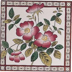 Original Style Sweetbriar Single Decor Tile