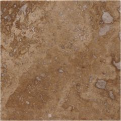 Original Style Umbrian Gold Noce Dot Filled & Honed Travertine