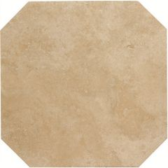 Original Style Umbrian Gold Octagon Filled & Honed Travertine