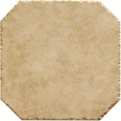 Original Style Umbrian Gold Octagon Filled & Honed With Chipped Edge Travertine