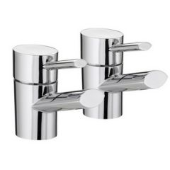 Bristan Oval Basin Taps (Pair)