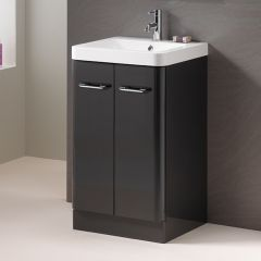 Oxford 50 2-Door Base Unit - Grey