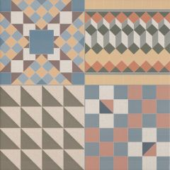 Patchwork Mix Floor Tile 44.2 x 44.2cm