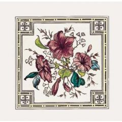 Original Style Plant & Urn Single Tile