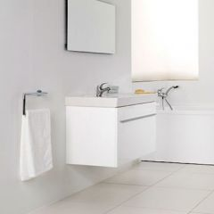 Porcelanosa City Blanco Wash Basin Unit 80cm