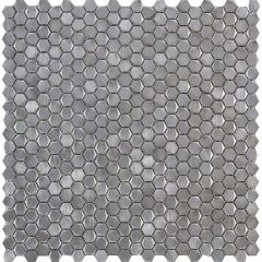 Porcelanosa Gravity Aluminium Arrow Metal Mosaic 29.8 x 30cm