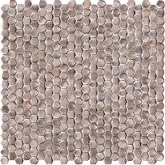 Porcelanosa Gravity Aluminium Hexagon Metal Mosaic 31 x 31cm