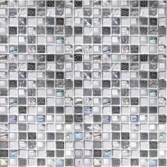 Porcelanosa Imperia Mix Silver Greys 30 x 30cm