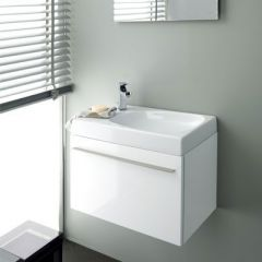 Porcelanosa Next Blanco Brillo Wash Basin Unit 60cm
