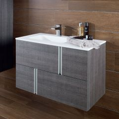 Porcelanosa Travat Wall Mounted Wash Basin Unit