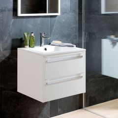 Porcelanosa Way Wall Mounted Wash Basin Unit 60cm