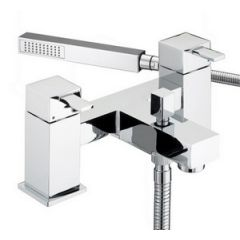 Bristan Quadrato Pillar Bath Shower Mixer Tap