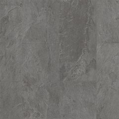 Quick-Step Livyn Ambient Click + Grey Slate Tiles