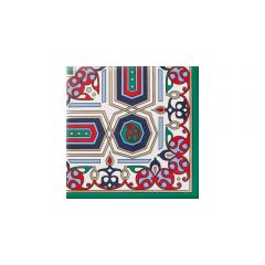 Rabat Floral Decor Tile 10 x 10cm