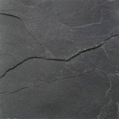 Rivened Slate Chinese Black 30 x 30cm