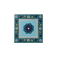 Safi White Decor Tile 10 x 10cm