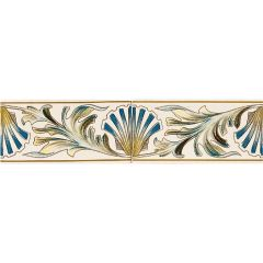 Original Style Shell Frieze Border 2-tile Set