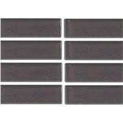 Smart Gunmetal Grey Glazed Ceramic Mosaic