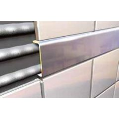 Stainless Steel Square Listello Tile Trim 2.5m