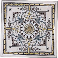 Original Style Symmetrical Classic Pattern Single Decor Tile