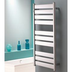 Taurus Flat Chrome Towel Rail