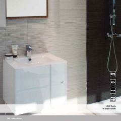 Porcelanosa Te Wash Basin Unit Blanco Brillo
