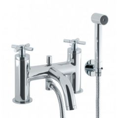 Totti Deck Mounted Bath Shower Mixer Tap with Kit
