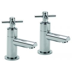 Trio Cross Head Bath Taps (Pair)
