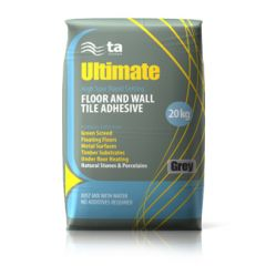 Tilemaster Rapid Ultimateflex Adhesive Grey 20kg